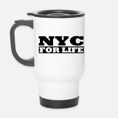 I Love Ny Cool - NYC For Life - Design par Milaino - Mug isotherme