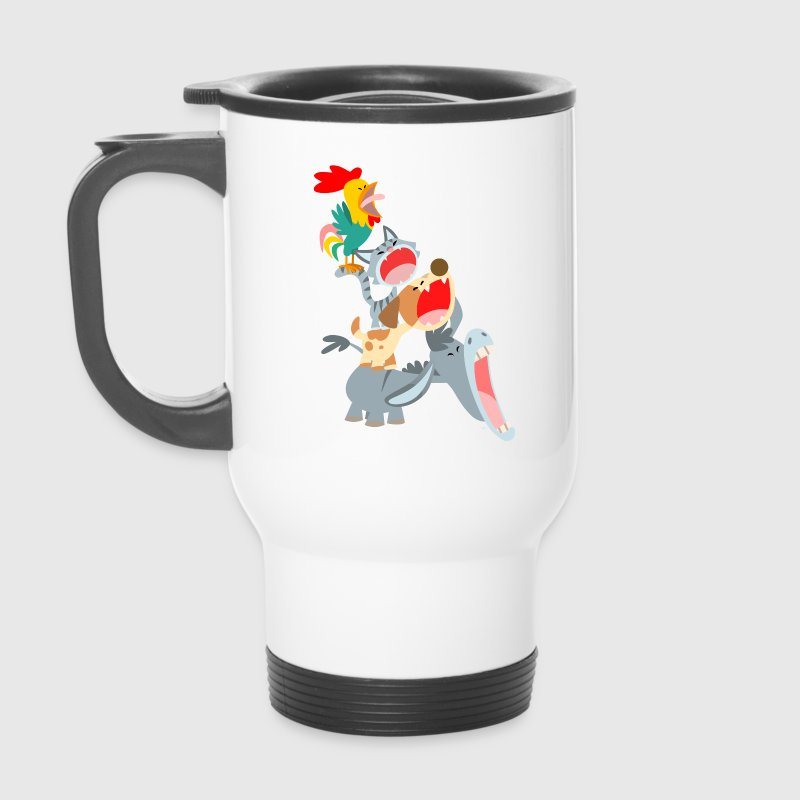 Les Musiciens de Brême par Cheerful Madness!! - Mug thermos