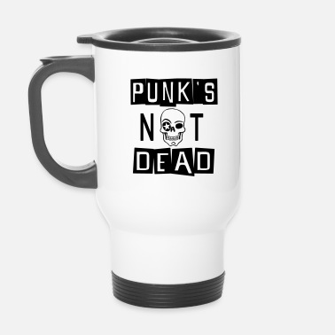 Punks Not Dead PUNK'S NOT DEAD - Travel Mug