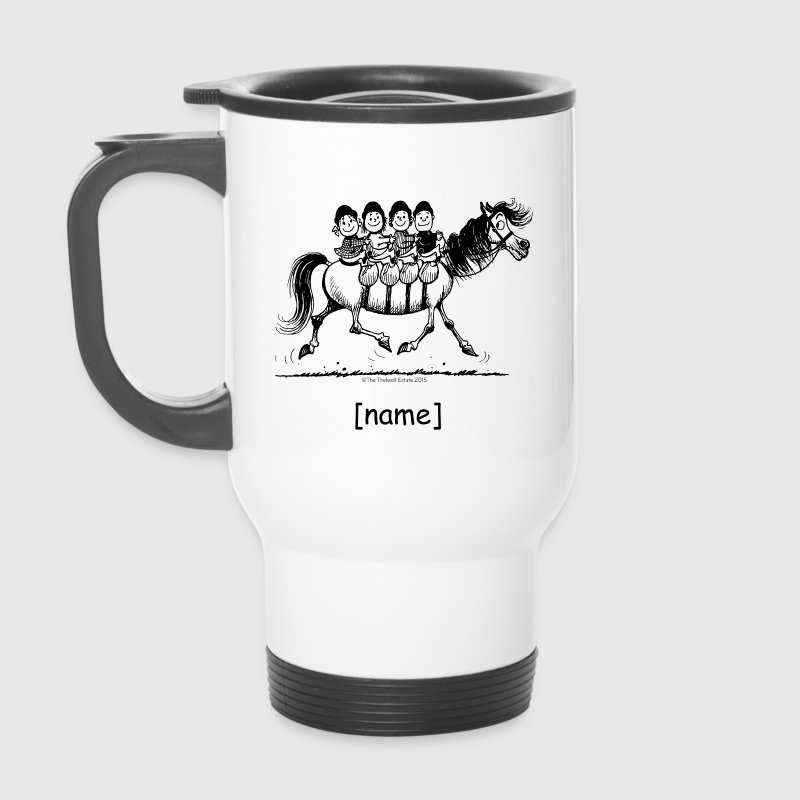 Gang of four Thelwell Cartoon - Travel Mug
