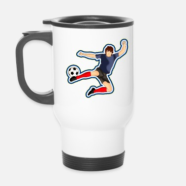 Footballer Footballer Football - Travel Mug