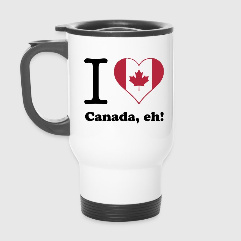 expatfood - I heart Canada - Thermobecher