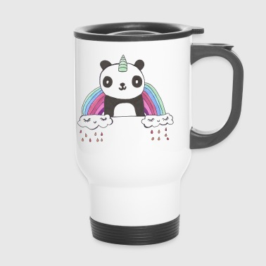 kawaii panda - Travel Mug