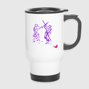 PURPLE SWORD - Travel Mug