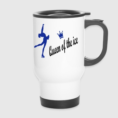 figure skating - Travel Mug