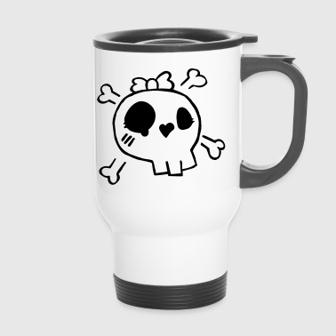 skully - Travel Mug