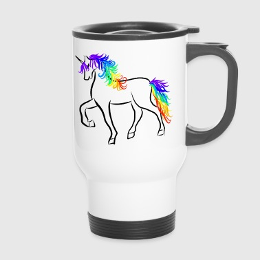 Unicorn Brushstroke Rainbow - Termokrus