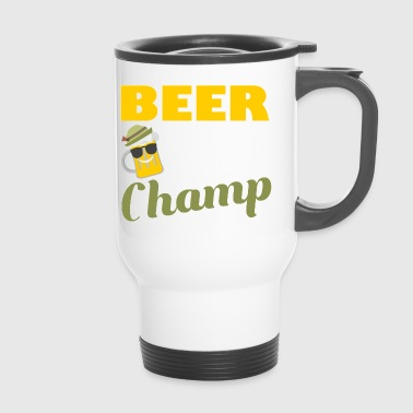 Beer Pong Champ T-Shirt Geschenk - Thermobecher
