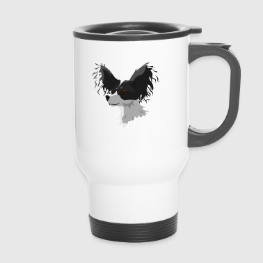 Dwarf Spaniel Butterfly - Travel Mug