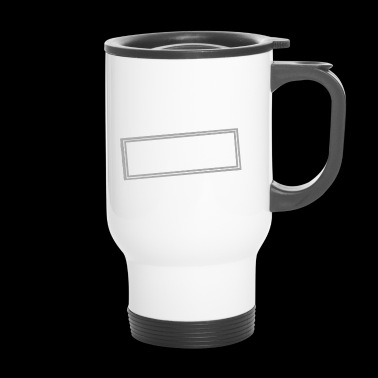 Not a day without sarcasm - Travel Mug