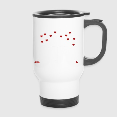 Anti valentines heart umbrella gift - Travel Mug
