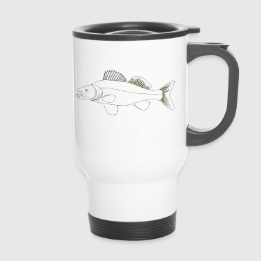 pike-perch - Travel Mug