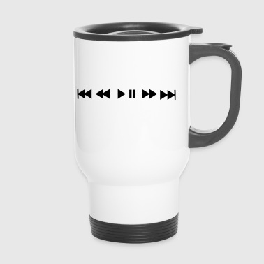 Play button - Travel Mug