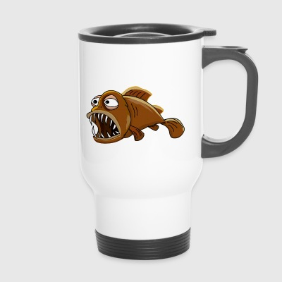Kro the lantern fish - Travel Mug