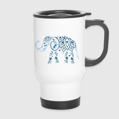 elephant - Travel Mug
