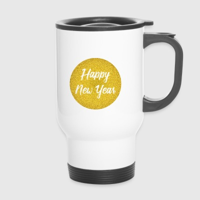 Happy New Year Silvester Design - Thermobecher