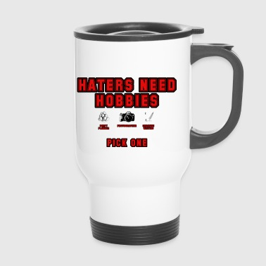 Haters (red) - Travel Mug