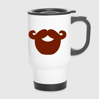 beard - Travel Mug