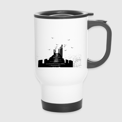 The pier - Travel Mug