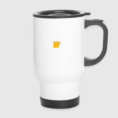 I am a simple man tits beer contrabass - Travel Mug