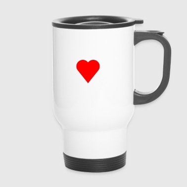 I love ice skates - Travel Mug