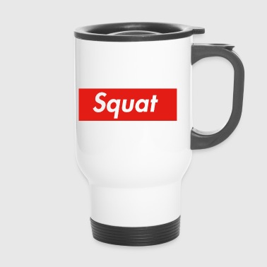 Squat box logo - Thermo mok