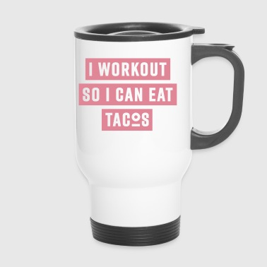 WORKOUT - pink - Mug thermos