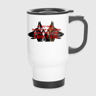 Dog, dog head, dog sports, Shepherd, - Travel Mug