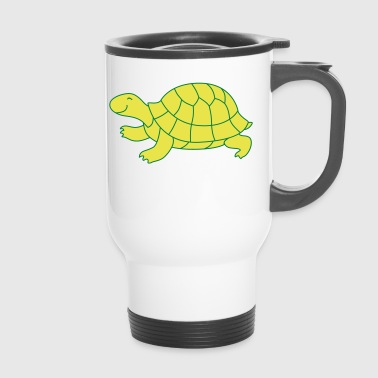 heureux tortue - Mug thermos