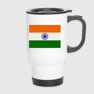 Indien-Flagge - Thermobecher