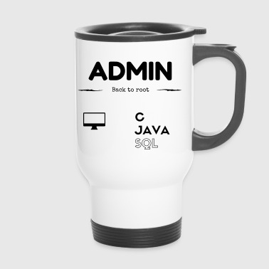 Admin SQL JAVA C - Travel Mug