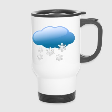 snow - Travel Mug