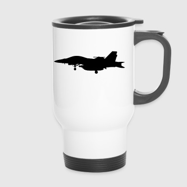 Jet fighter jet jet-jet gift gift idea - Travel Mug