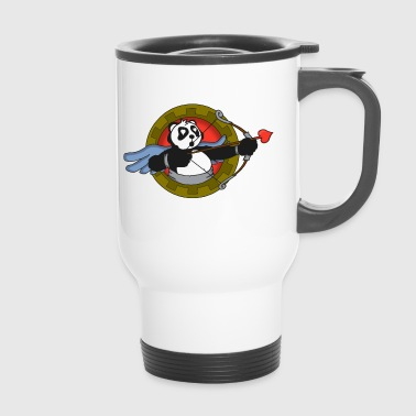 Cupid's Panda - Travel Mug