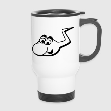 funny sperm - Travel Mug