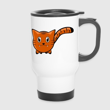 Tiger Cartoon - Travel Mug