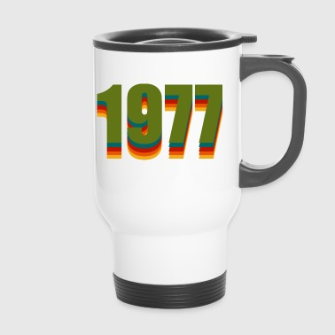 1977 rainbow - Travel Mug
