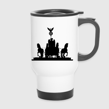Berlin Brandenburg Gate - Travel Mug