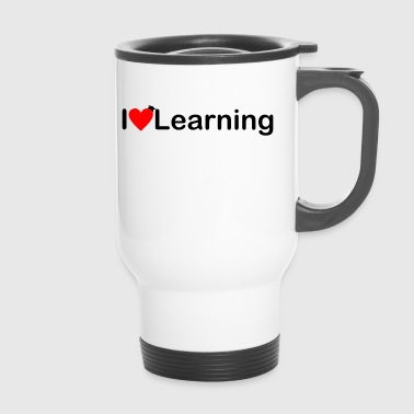 Ich liebe Lernen | I love Learning - Thermobecher