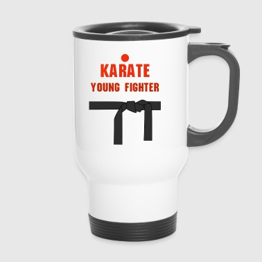 Karate young fighter - Kubek termiczny