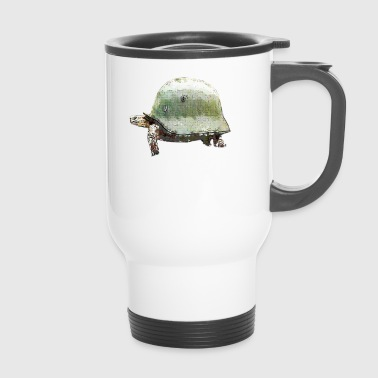 TORTUGA MILITARY HELMET - Travel Mug