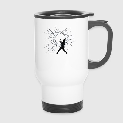 base-ball - Mug thermos
