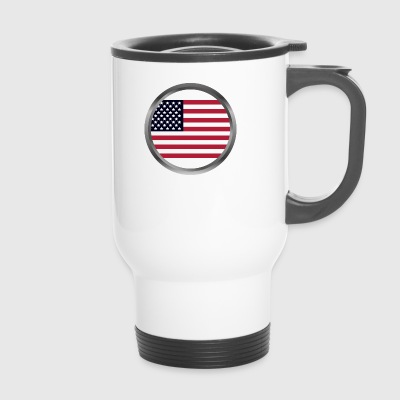 United States flag - Thermobecher