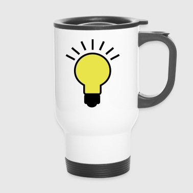 2541614 16001767 light bulb - Travel Mug