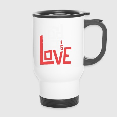 God is Love - Travel Mug
