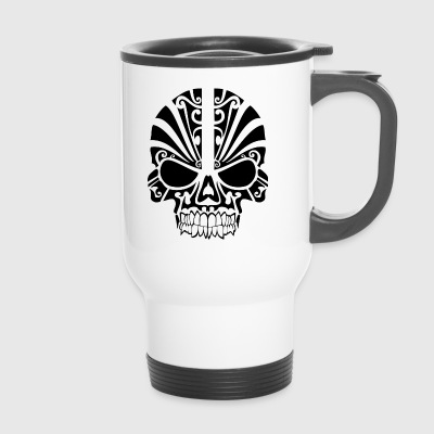 Tribal skull - Travel Mug