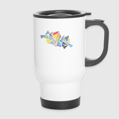 Triangles modernes - Mug thermos