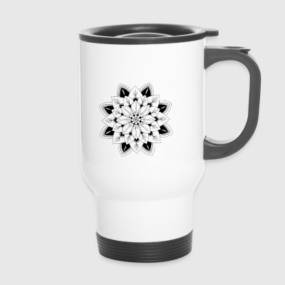 Interior mandala - Travel Mug