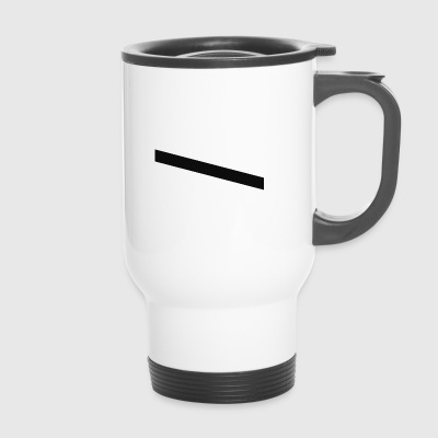 rayures noires - Mug thermos