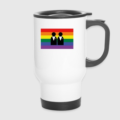 homosexuality, bachelorette party - Travel Mug